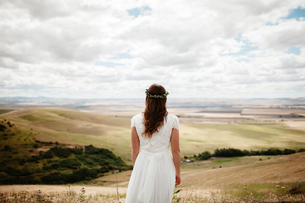 Artistic Eastern Oregon Wedding photography