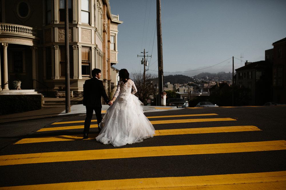 Downtown San Francisco Wedding Photos