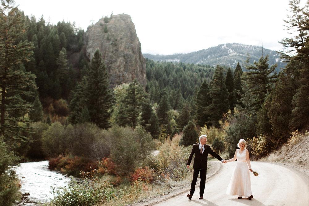 Mountain Sky Guest Ranch Montana Wedding Photographer