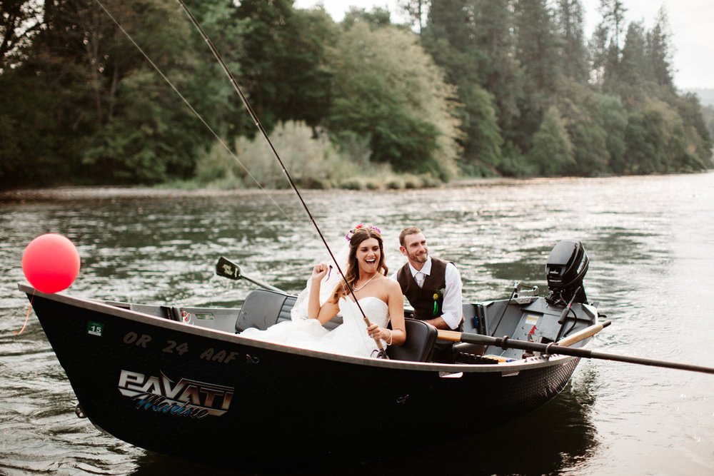 Rogue River Southern Oregon Wedding Photographer
