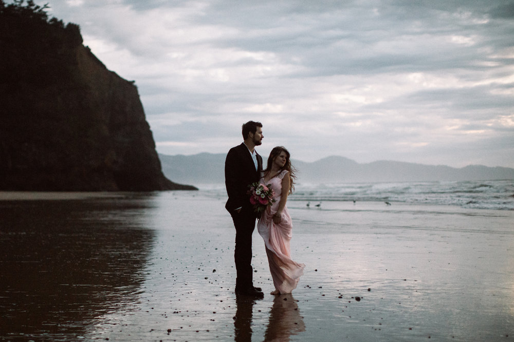 Oregon Coast Elopement Cannon Beach Wedding Photographer