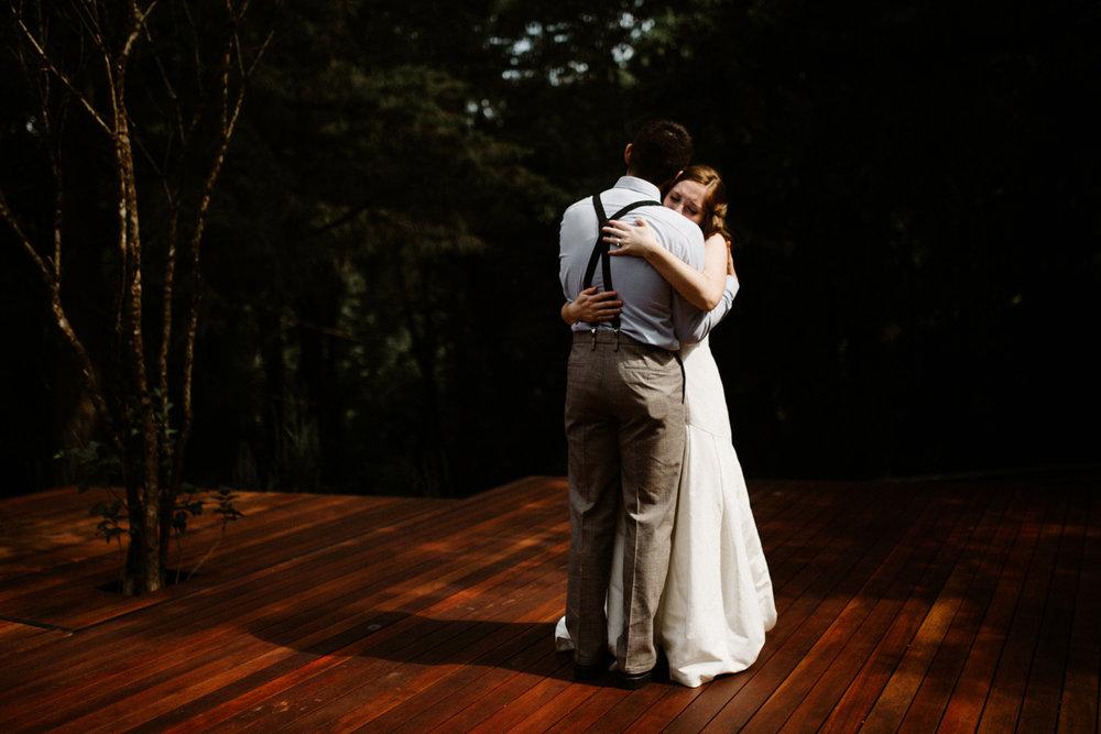 Portland Oregon intimate wedding photographer