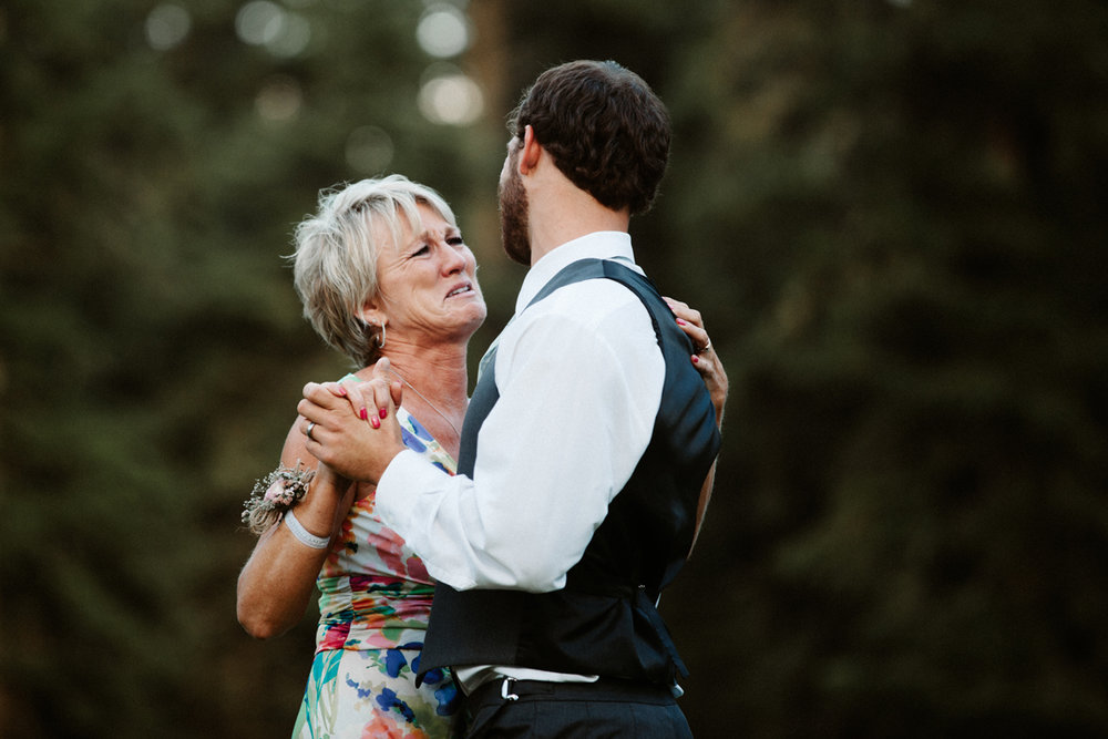 Eastern Oregon Forest Wedding