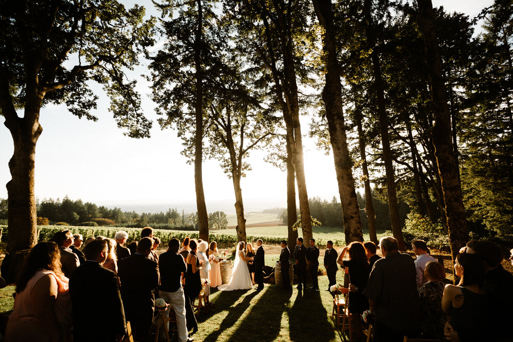 Vista Hills Vineyard Wedding Photographer