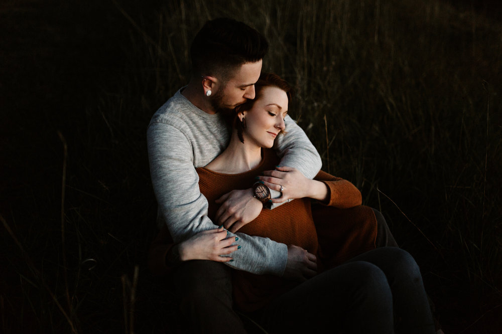 Corvallis unique engagement photographer