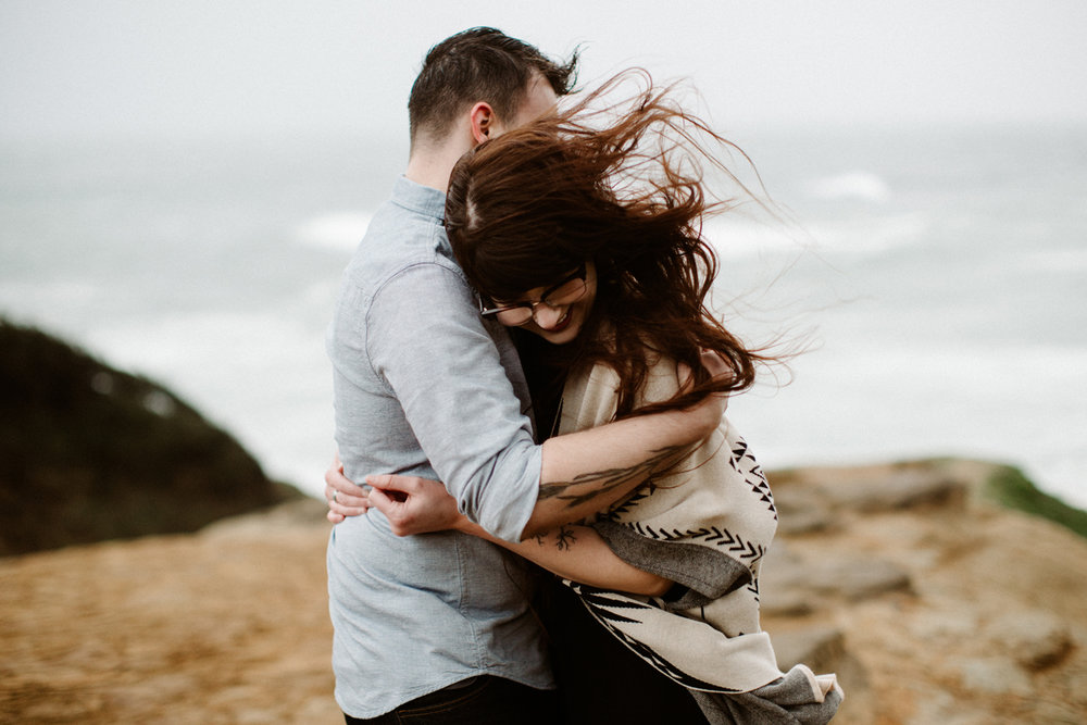 Pacific City Engagement Photos