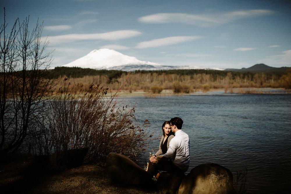 Mt. Adams engagement pictures