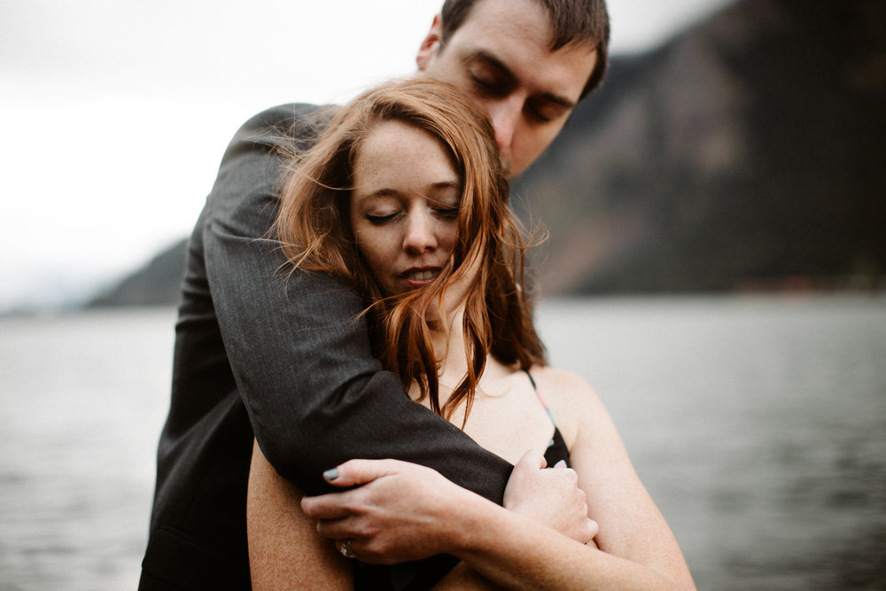 Creative Portland Engagement Photos