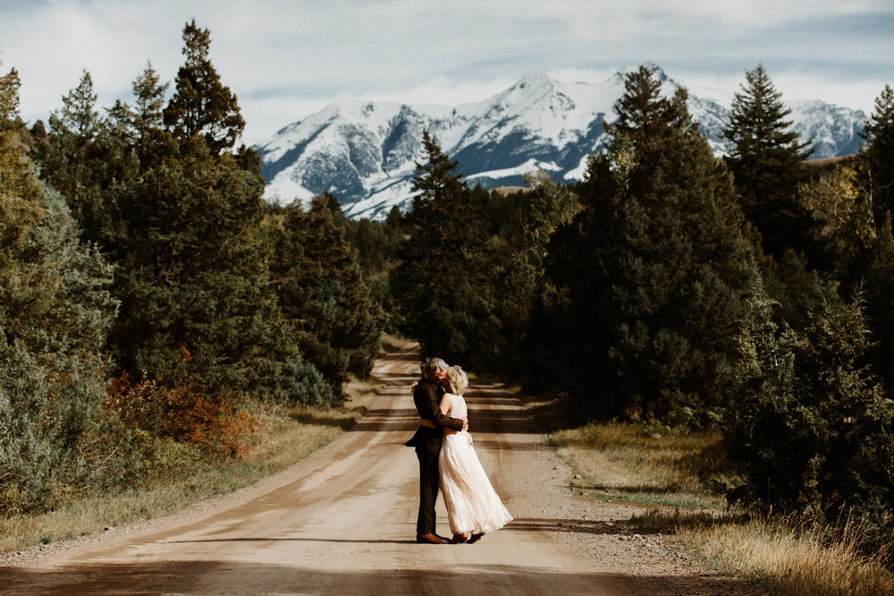 Mountain Sky wedding venue in Montana