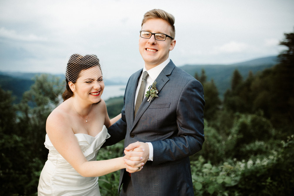 Columbia River Gorge wedding photographer
