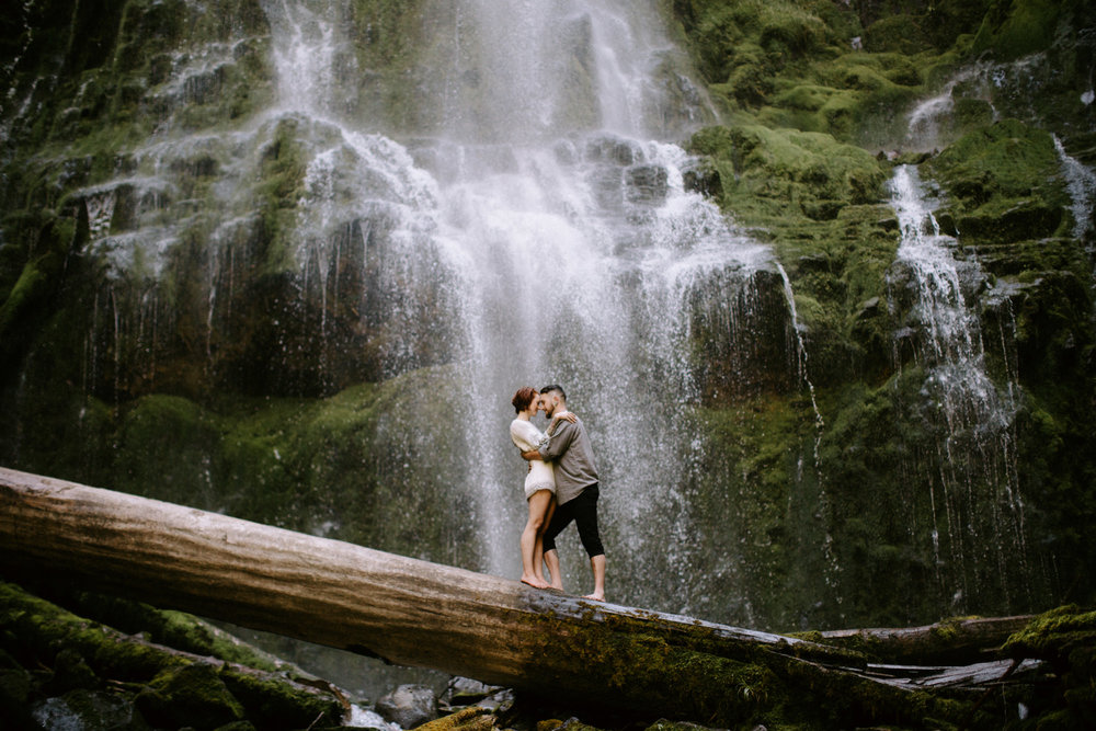 Proxy Falls Elopement Oregon