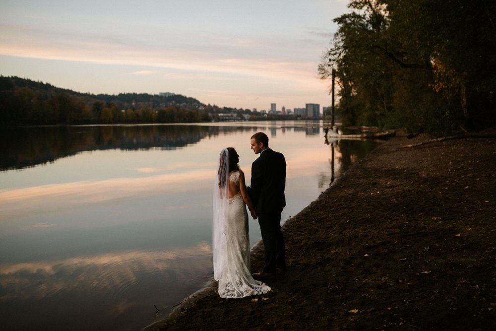 Sellwood Oregon Wedding Photos