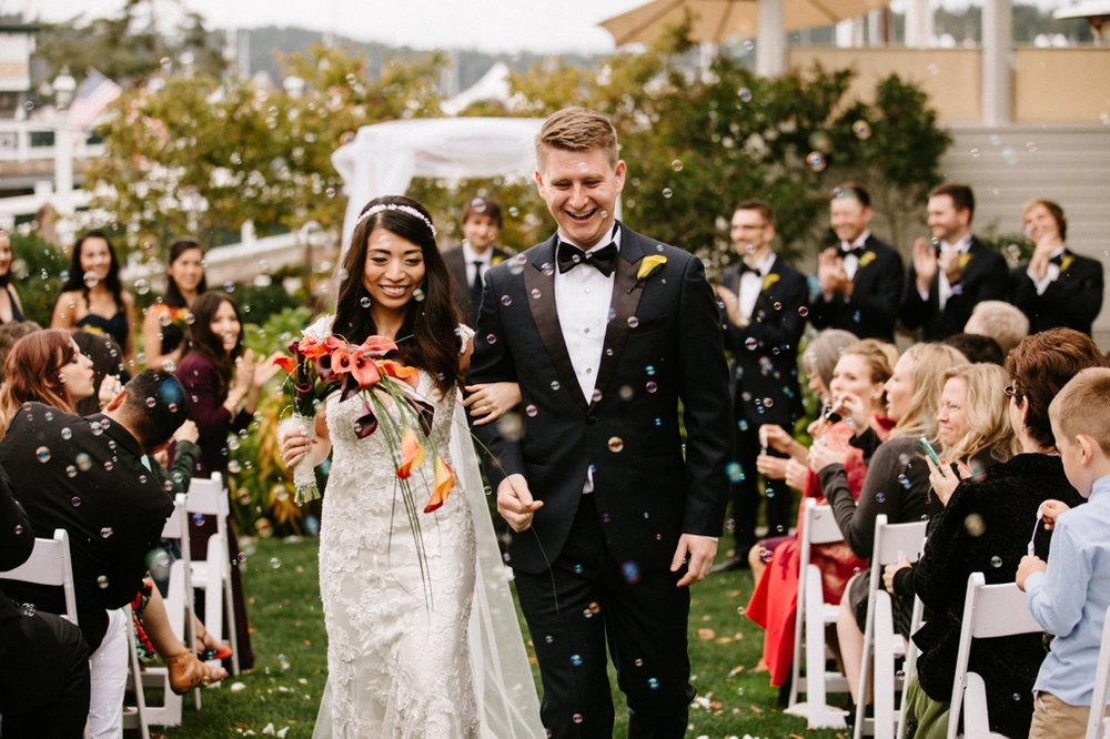 Roche Harbor San Juan Island Wedding Photographer