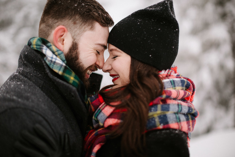 Timberline Lodge engagement photo ideas