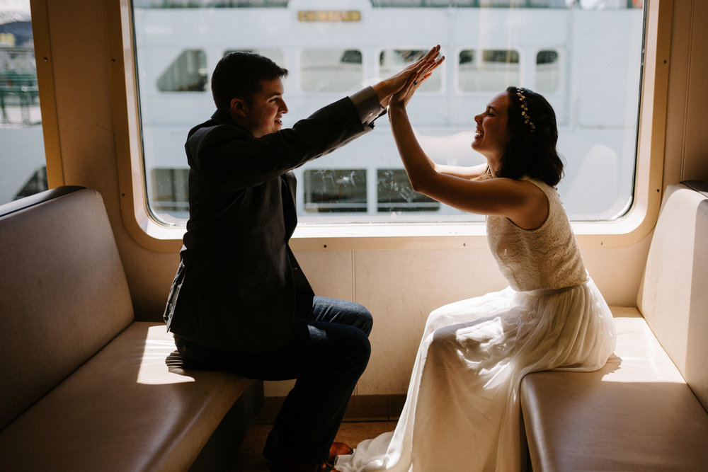 Downtown Seattle Wedding Photographer