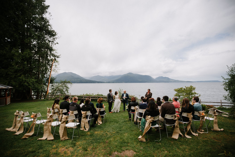 Scenic Beach State Park Wedding