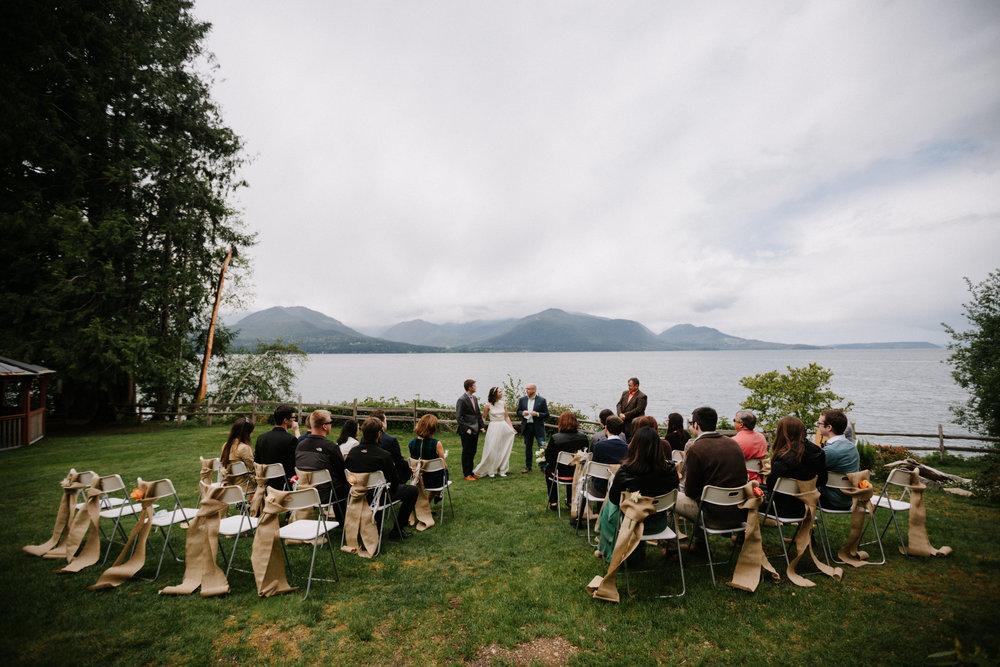 Scenic Beach State Park Wedding