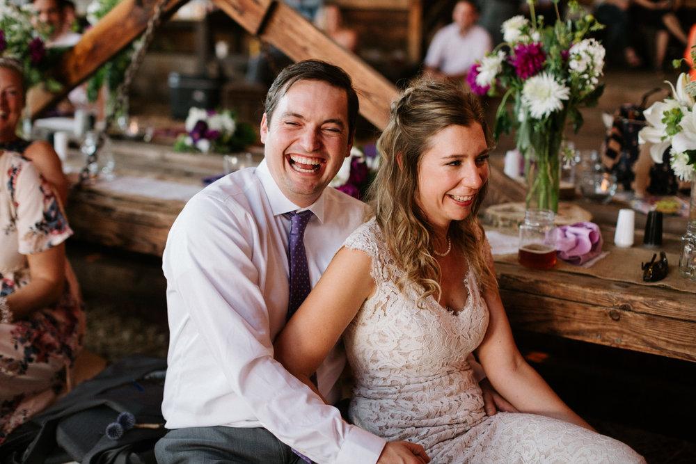Candid Portland Wedding Photographer