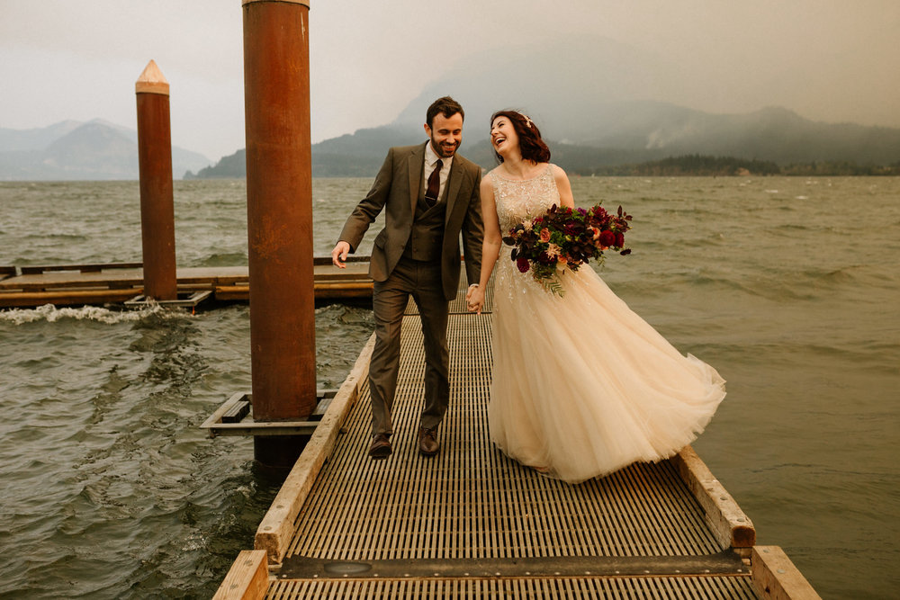 Columbia River Gorge Elopement