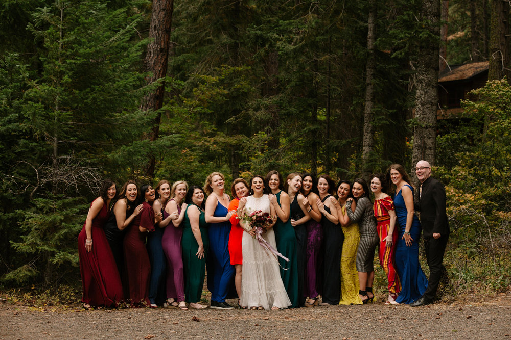 Colorful bridesmaid dress inspiration