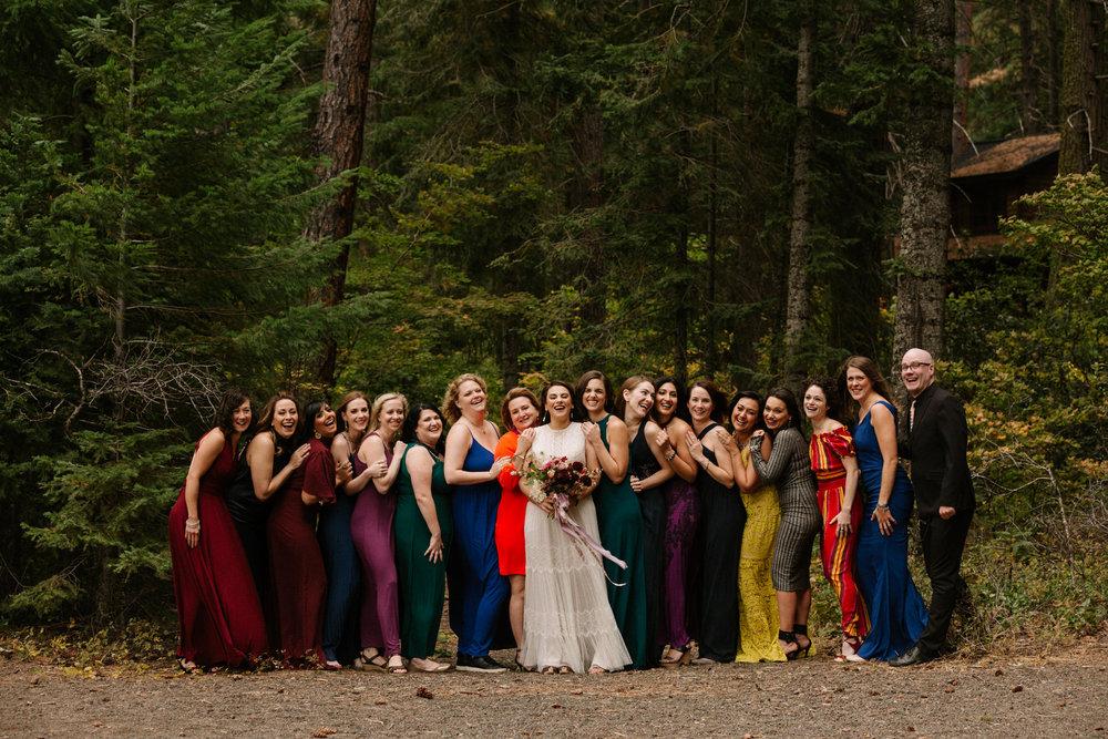 Colorful bridesmaid dress inspiration