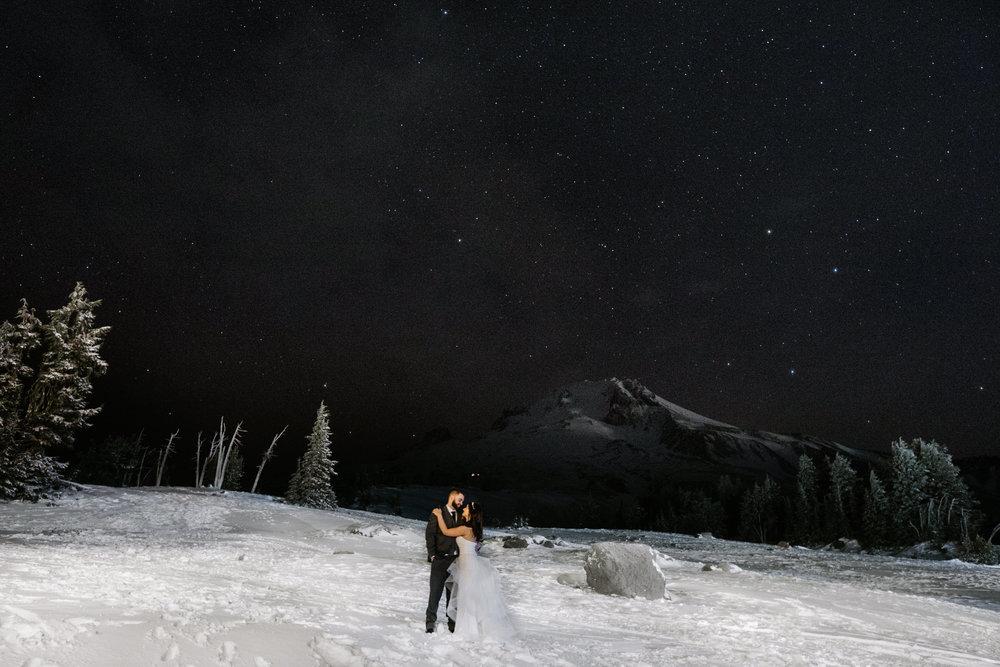 Timberline Lodge Wedding Mt Hood