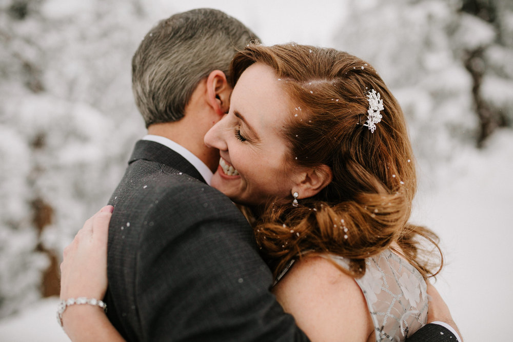 Christa + Ed at Timberline