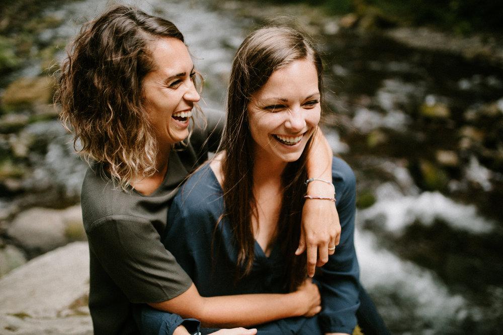 Meaghan + Jenny in Oregon