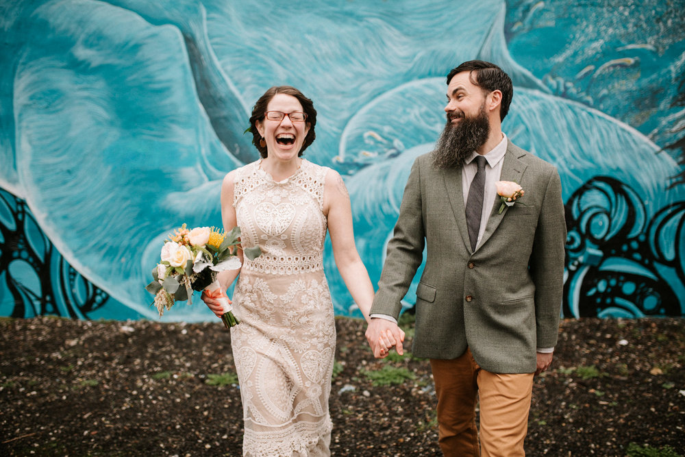 Portland Wedding at Alberta Arts District, photographed by Katy Weaver Photography