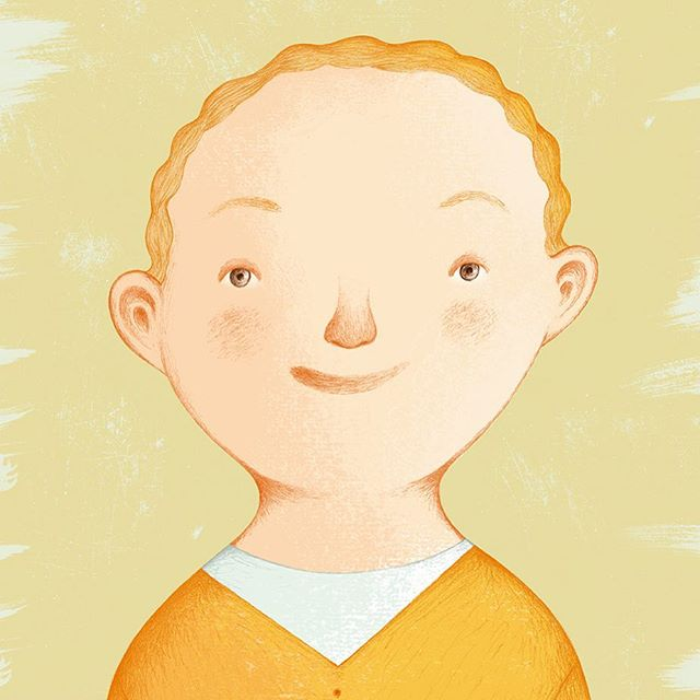 #happy #redhead #boy #childrensbooks #childrenillustration