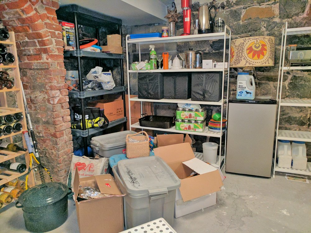 Basement jumble