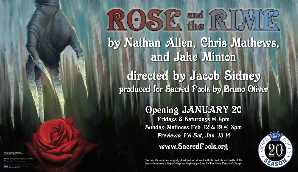 Join us for this new American fairy tale at the Sacred Fools Theater in Hollywood.