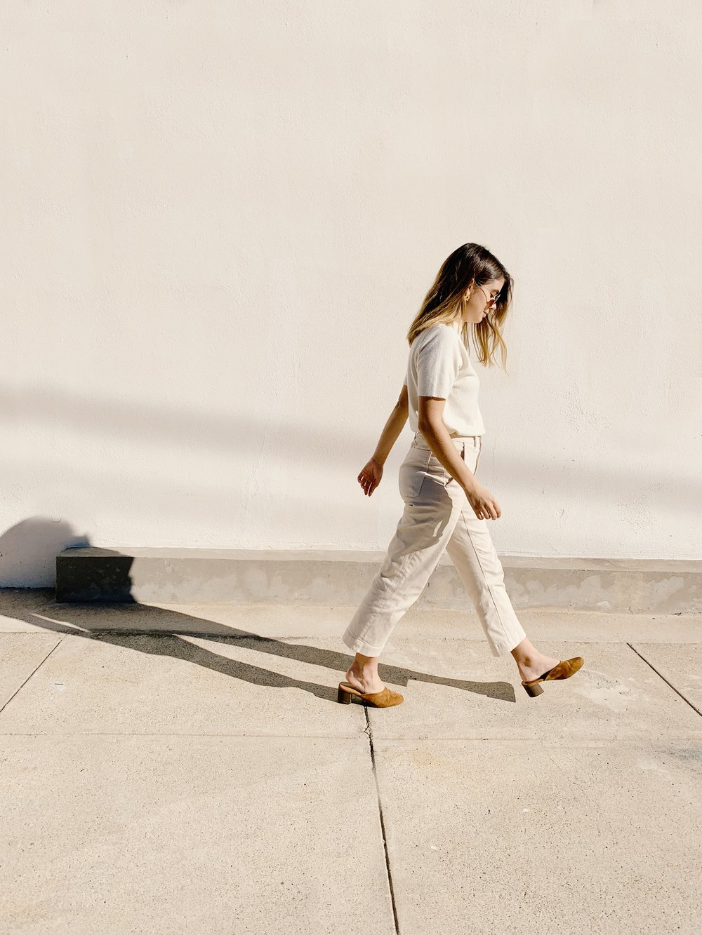 Everlane Straight Leg Pants