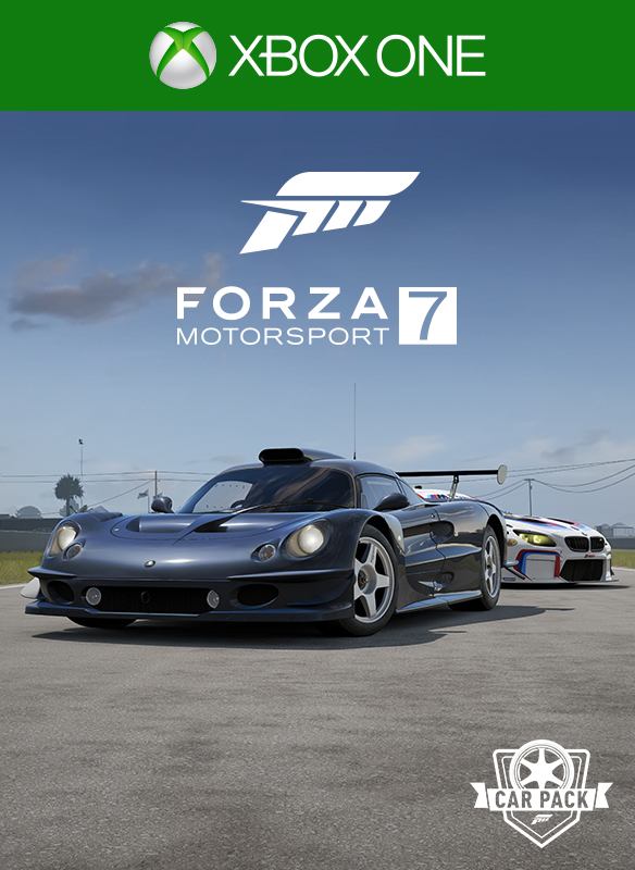 I worked on various Microsoft store visual ID covers for Forza Motorsport 7. I designed the Car Pass and VIP logos, as well as the Car Pack badge. I took the screenshot for this image. Art direction by Nic Johnson, Tim Dean and Ian Lovitt.