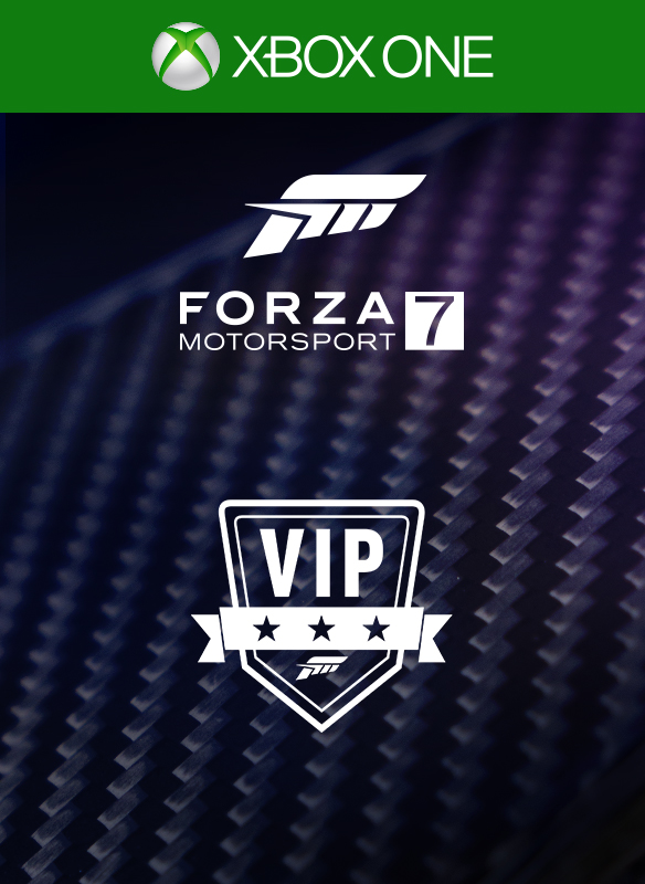 I worked on various Microsoft store visual ID covers for Forza Motorsport 7. I designed the Car Pass and VIP logos, as well as the Car Pack badge. The carbon fiber shots were taken by Tyler Finney. Art direction by Nic Johnson, Tim Dean and Ian Lovitt.