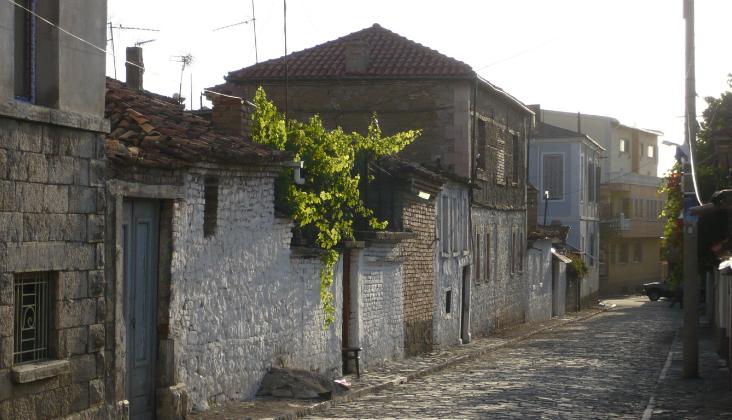Rrugicë në Korçë