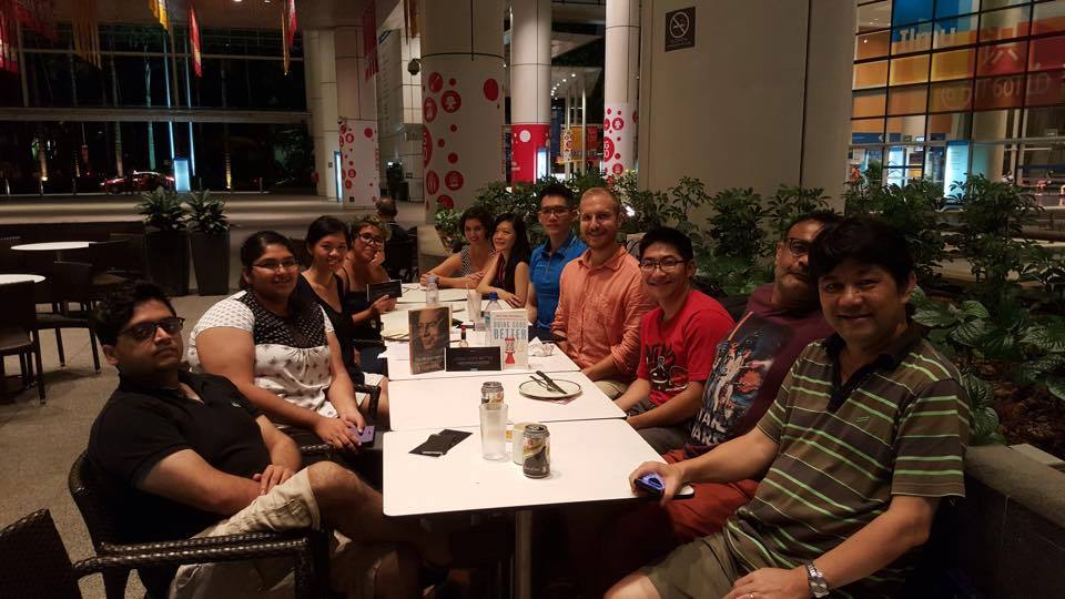 PHOTO:  First EA meet-up in Singapore