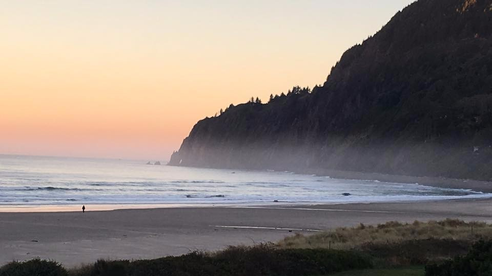 The Oregon coast, photo by Deb McMahon.
