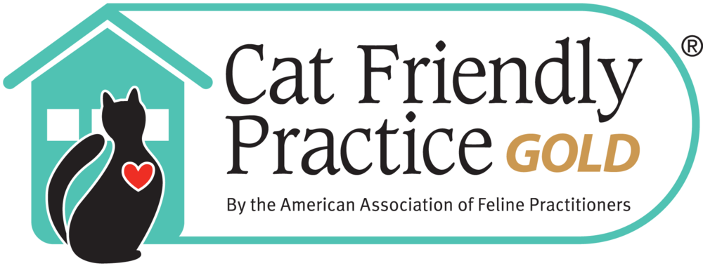 We recently received our  Gold Level Cat Friendly Practice  certification from the American Associate of Feline Practitioners ( http://www.catvets.com ). We are really excited to receive this certification-but what does this mean for you and your cats? To become a Cat Friendly Practice, animal hospitals must take very specific steps to assure they understand a cat's unique needs, have implemented feline-friendly standards, and have made changes to decrease stress and provide a more calming environment for your cats.   So why have we done this? Compared to dogs, cats tend to dislike visiting the vet more. However, it is equally important that cats are examined by a veterinarian on a regular basis to prevent and diagnose health issues, as well as regular vaccines, prevention, and more. By implementing cat friendly practices, we are striving to make your cat's visit easier for you and your cat.  As a Cat Friendly Practice, our clinic incorporates cat-friendly features into the physical environment of the practice including separate cat and dog waiting areas, cat only examination rooms and treatment areas and equipment appropriate specifically for cats. We also regularly use Feliway, a natural pheromone that can lower a cat's anxiety level.   And most importantly is our staff's approach to handling your cat. Our staff had received additional training to ensure they remain calm and understand cat's body language. We use gentle handling techniques to limit the stress of your cat.   Becoming gold certified, requires more then submitting an application. Veterinary clinics that want to become certified feline friendly have to be able to show their hospital is set up appropriately for our feline friends, the staff and veterinarians must receive yearly training that focuses on feline medicine and handling, and be a member of the American Association of Feline Practitioners.   If your cat dislikes coming to the vet, or it is stressful bringing your cat to the vet, come talk to us about ways that we can change this!   Boo Donoho, DVM