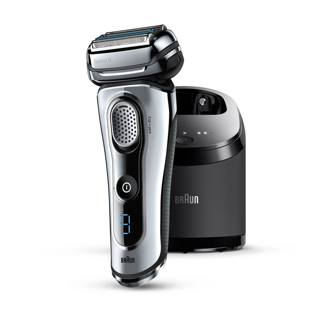 The Braun Series 9-9095cc Electric Shaver (image  via )