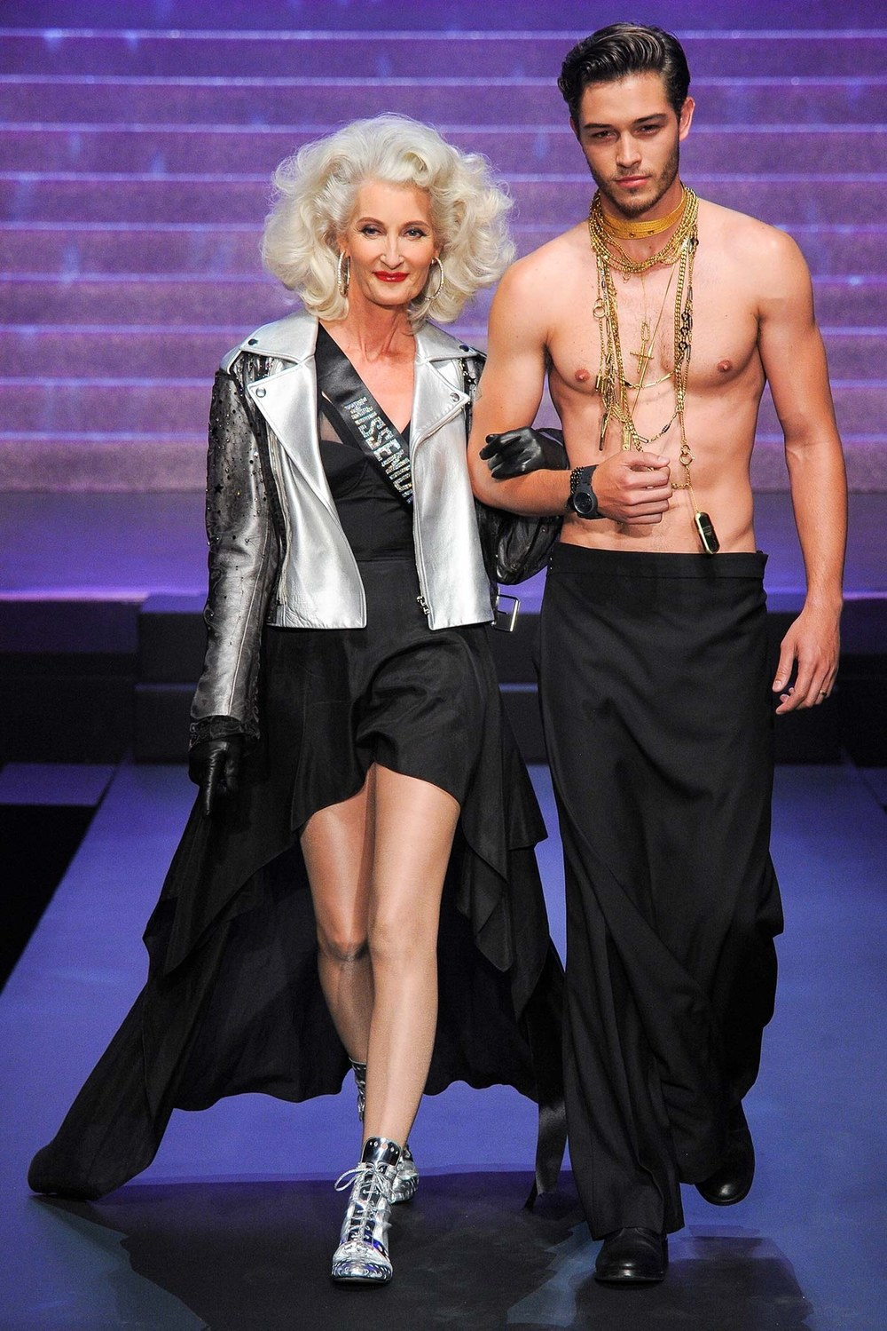 Jean Paul Gaultier's final collection; image  via