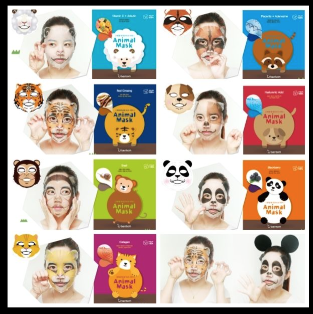 Animal Masks- Buy here