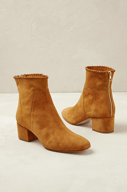 Anthropologie Alta Moda Ravenna Booties  $160 ; image  via