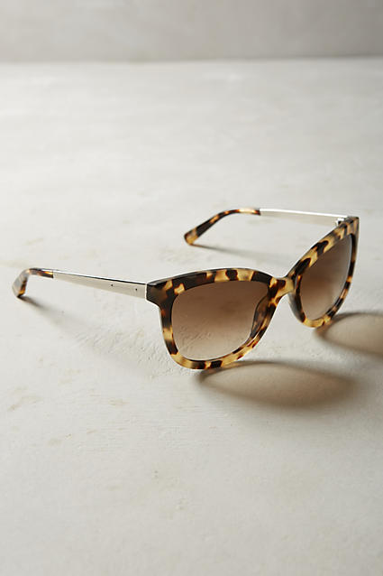 Anthropologie Bobbi Brown Stella Sunglasses $155; image via