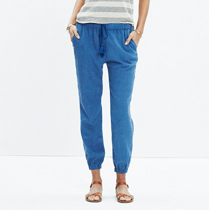 Madewell Shorewalk Cover-Up Pants  $49.99 ; image  via