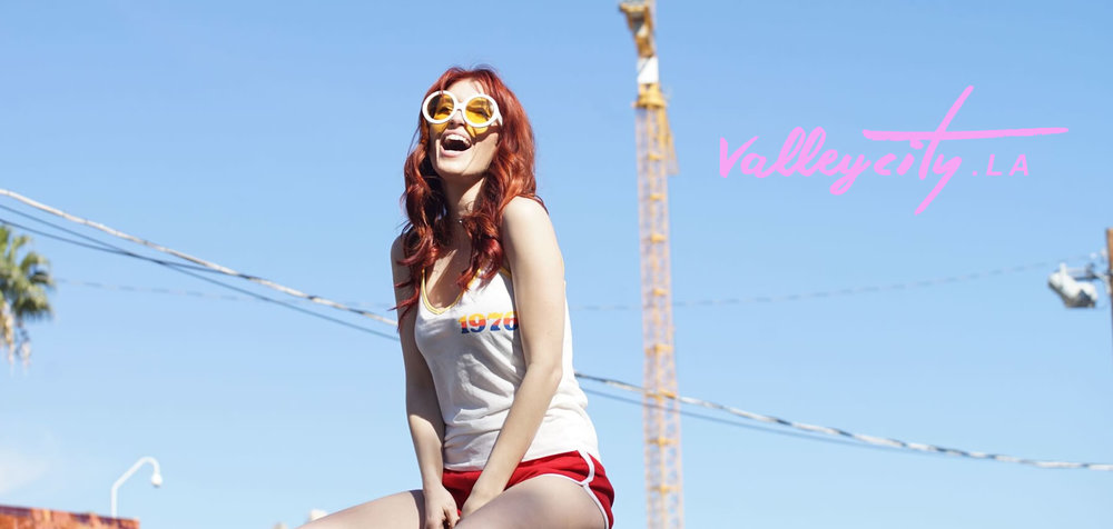 "A shot from their ""Valley City"" collaboration with Dani Thorne; image  via"