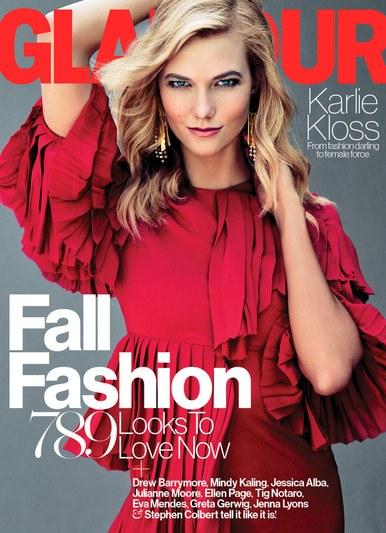 Karlie for Glamour US