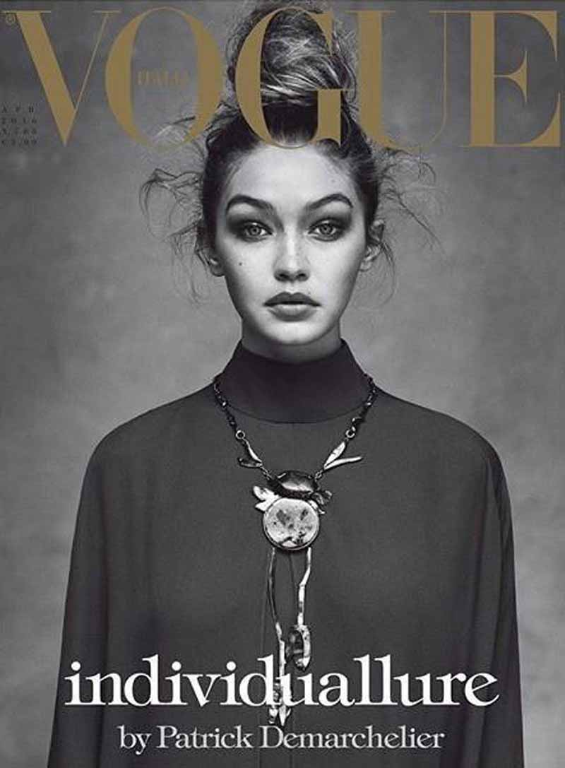 Gigi for Vogue Italia