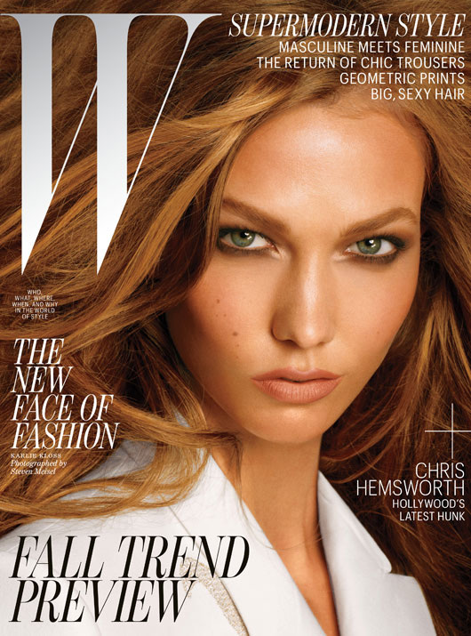 Karlie for W Magazine US