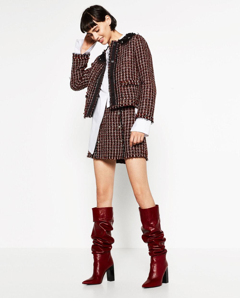 Tweed Matching Set